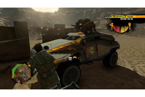 Red Faction: Guerrilla Re-Mars-tered Gameplay [PC] - YouTube