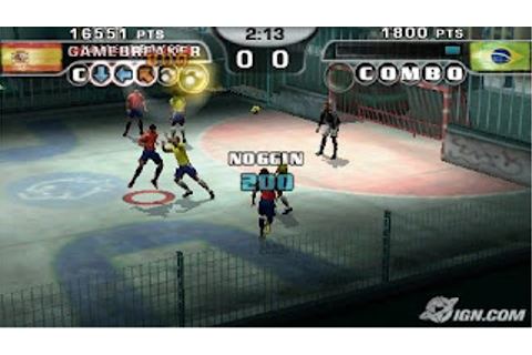 Fifa Street 2 Free Download PSP Game |Free Download Games