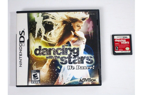 Dancing With The Stars We Dance game for Nintendo DS | The ...