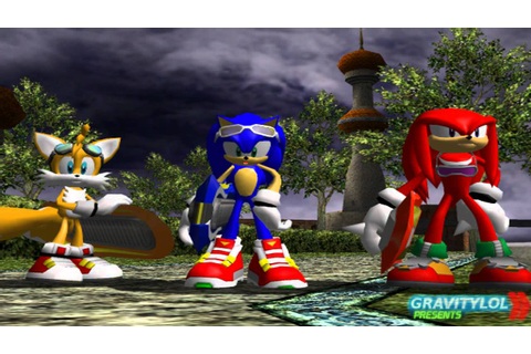 PC - Sonic Riders - Hero Story - Part 6 - Sonic vs Jet ...
