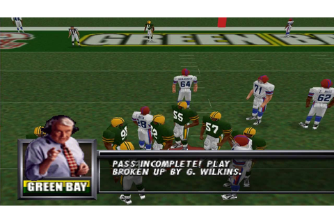 Madden Football 64 Nintendo 64 Gameplay HD - YouTube