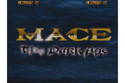 Mace: The Dark Age arcade video game by Atari Games Corp ...