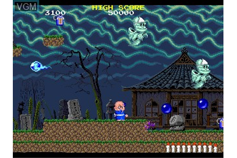 Bonze Adventure for MAME - The Video Games Museum