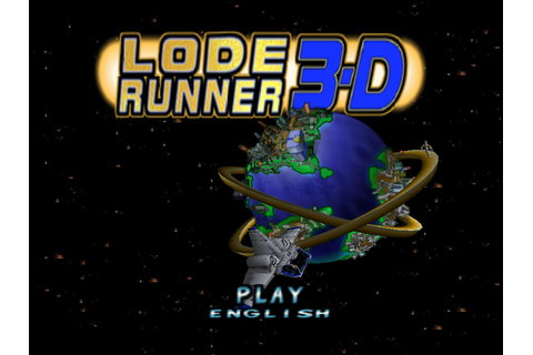 Lode Runner 3-D Screenshots | GameFabrique