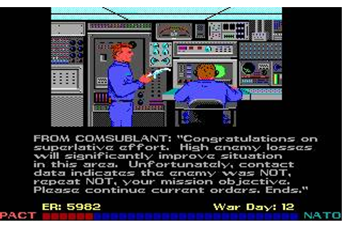 Red Storm Rising Download (1989 Simulation Game)