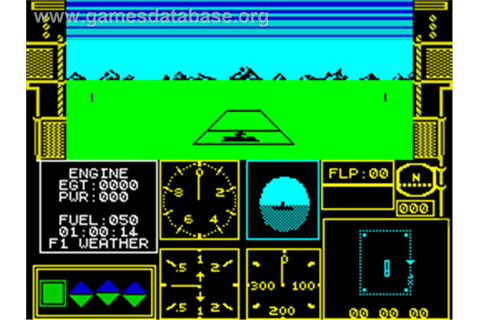 Acrojet - Sinclair ZX Spectrum - Games Database
