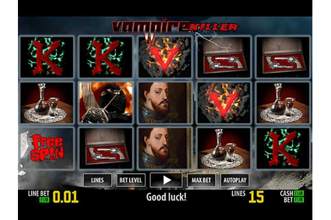 Vampire Killer™ Slot Game Free & For Real Money |No ...