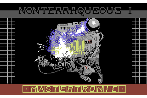 Nonterraqueous (1985) by Mastertronic C64 game