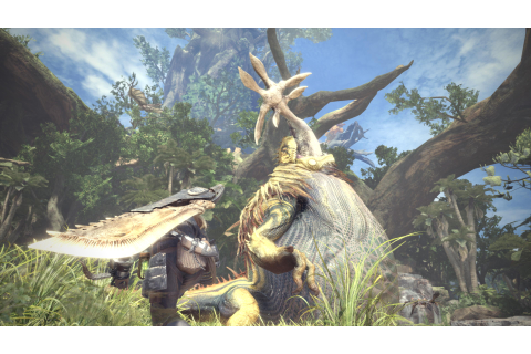 Monster Hunter World New SDCC Gameplay Footage Showcases ...