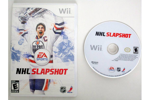 NHL Slapshot game for Nintendo Wii | The Game Guy