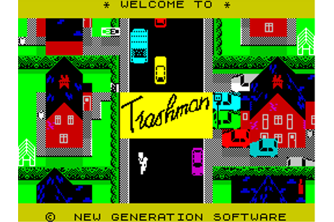 Download Trashman (Amstrad CPC) - My Abandonware