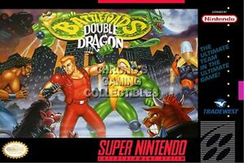 RGC Huge Poster - Double Dragon Battle Toads Super ...