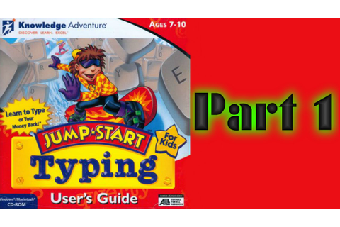 Whoa, I Remember: JumpStart Typing: Part 1 - YouTube
