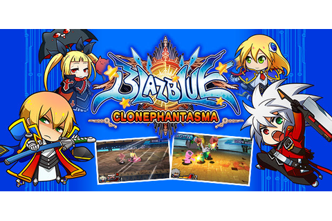 BlazBlue: Clone Phantasma on the Nintendo 3DS ← bifuteki