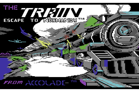 The Train: Escape to Normandy (1987) by Accolade C64 game
