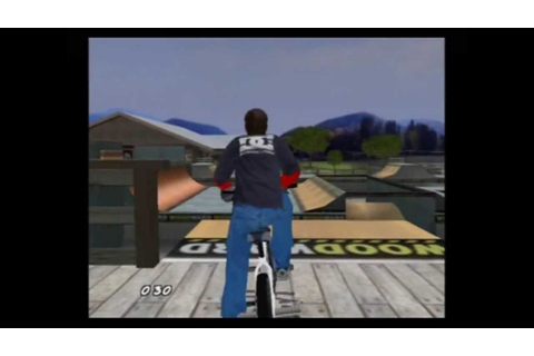 The Gameplay of Dave Mirra Freestyle BMX 2 - YouTube