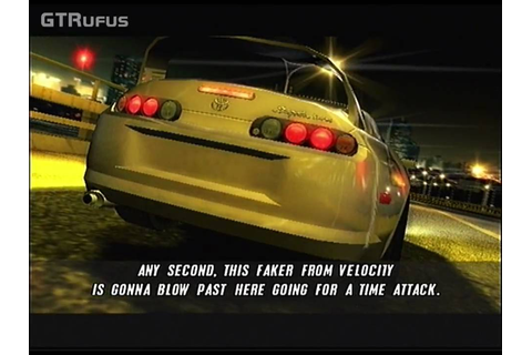 The Fast & The Furious: Tokyo Drift PS2 - First Race and ...