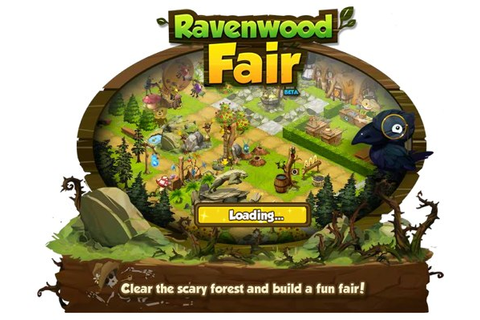 Ravenwood Fair, a Facebook game from ... John Romero?