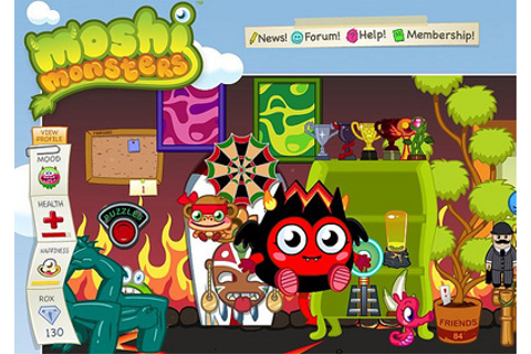 Moshi Monsters :: Free PC Game Review