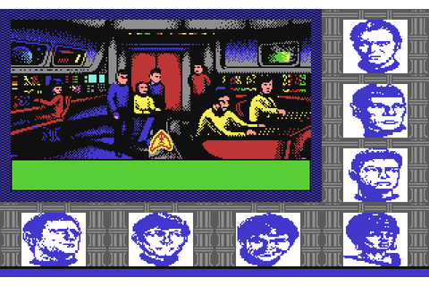 Star Trek: The Rebel Universe (1988) by Firebird C64 game