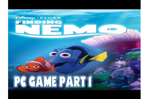 Finding Nemo PC Game Part 1 - YouTube