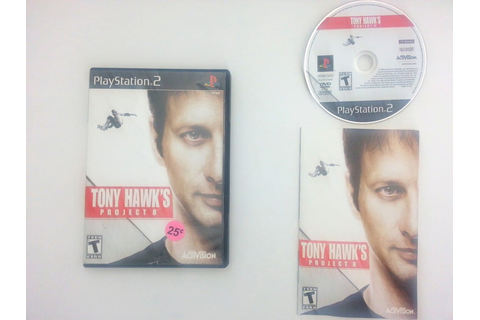 Tony Hawk Project 8 game for Sony Playstation 2 PS2 ...