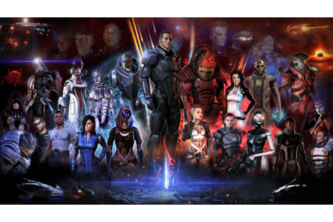 Mass Effect, Video Games, Mass Effect 2, Mass Effect 3 ...