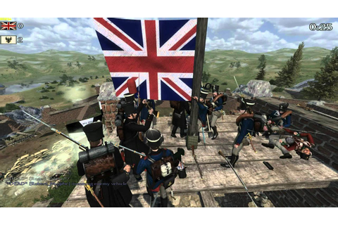 Mount & Blade Napoleonic Wars Best Cannon Shot Ever - YouTube