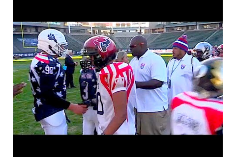 American Youth Football National All Star Game 20 - YouTube