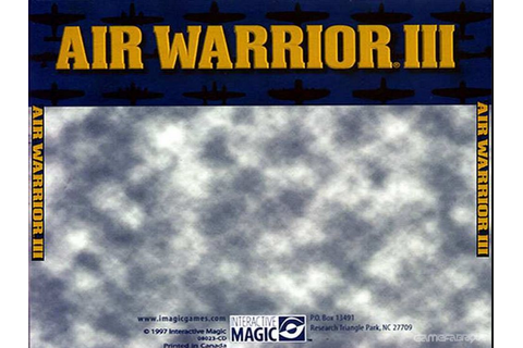 Air Warrior III Download Game | GameFabrique
