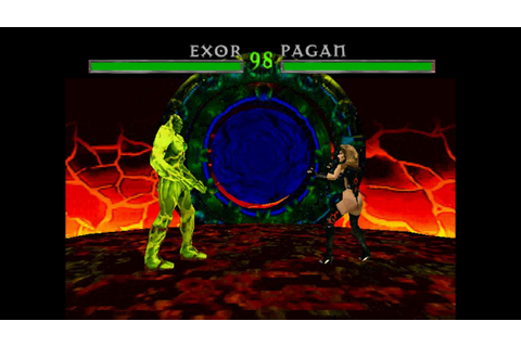 War Gods [PS1] - play as Exor - YouTube