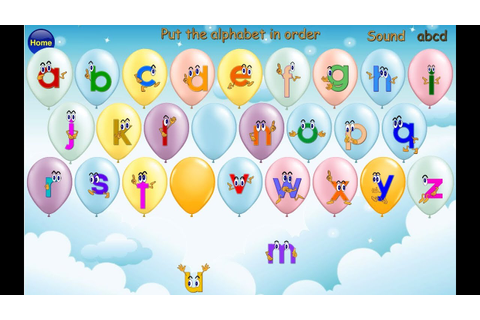 ABC Alphabet Song, Alphabet Order and Letter Case Matching ...