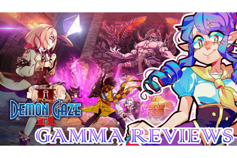 Demon Gaze II Review (PS Vita/PS4) | Gamma Review - YouTube