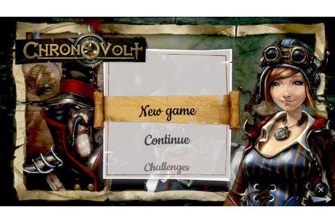 Chronovolt (2012) by Playerthree PS Vita game