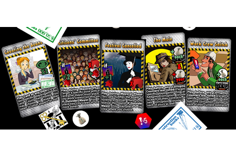 'Construction & Corruption' board game launched