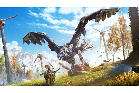 12 Minutes of Horizon: Zero Dawn Gameplay (with Commentary ...
