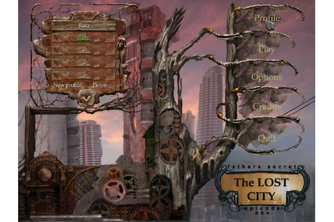 PC Games - Computer Games - PC Game Cheats: The Lost City ...