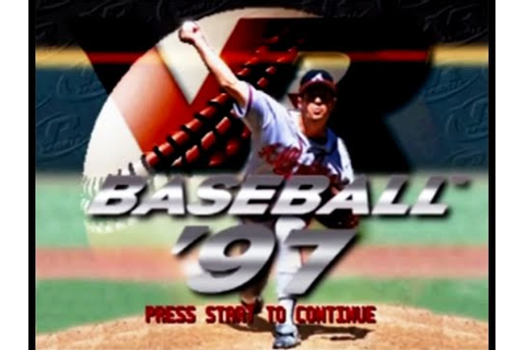 VR Baseball '97 (PS1) - Let's Play - YouTube