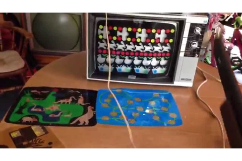 "Magnavox Odyssey ""SHOOTING GALLERY"" game - YouTube"