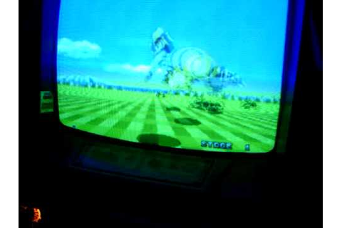 Space Harrier Arcade game - YouTube