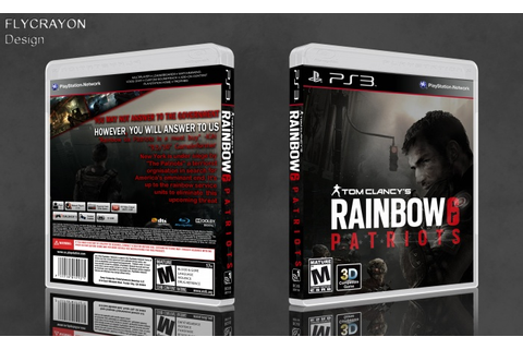 Tom Clancy's Rainbow Six: Patriots PlayStation 3 Box Art ...