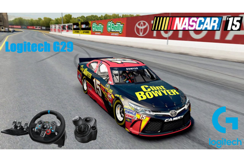 Nascar'15 (The Game) with Logitech G29 Driving Force ...