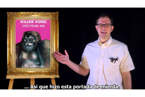 AVGN(ESPAÑOL): Bad Game Cover Art #21 - Killer Kong (ZX ...