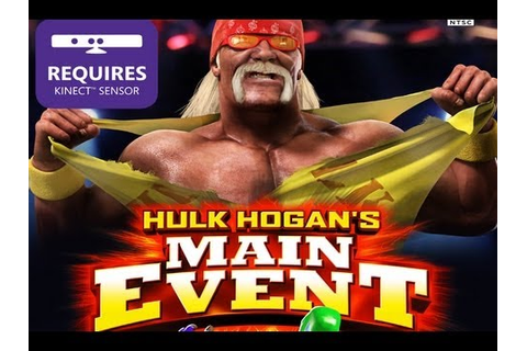 CGRundertow HULK HOGAN'S MAIN EVENT for Xbox 360 Video ...