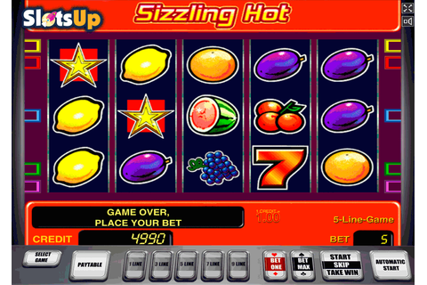 Sizzling Hot Slot Machine Online ᐈ Novomatic Casino Slots