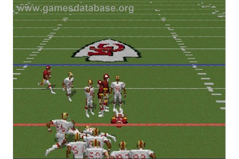 NFL '97 - Sega Saturn - Games Database