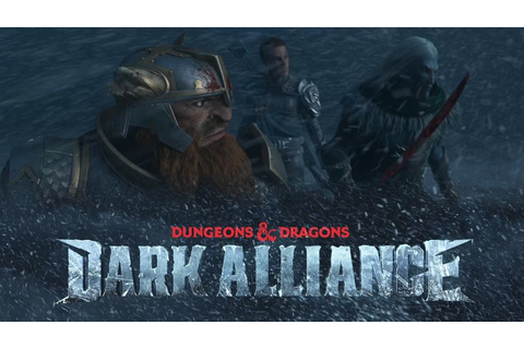 Dungeons & Dragons: Dark Alliance Promises Co-op RPG Gameplay