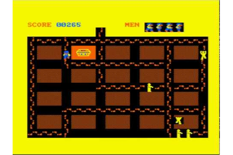 Oh Mummy - Amstrad CPC game - YouTube