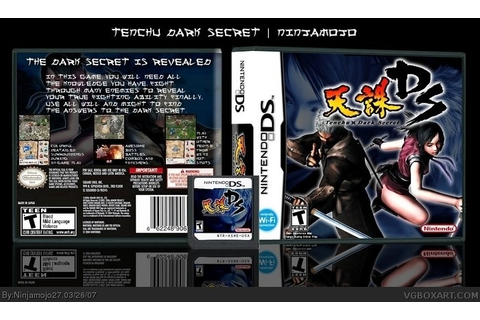 Tenchu : Dark Secret Nintendo DS Box Art Cover by Ninjamojo27