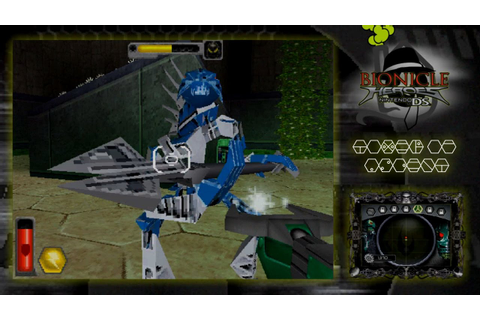 BIONICLE Heroes DS Recording Test 2 (Wii U/Loadiine ...
